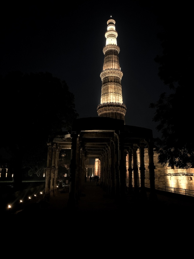 The marvelous Qutub Minar