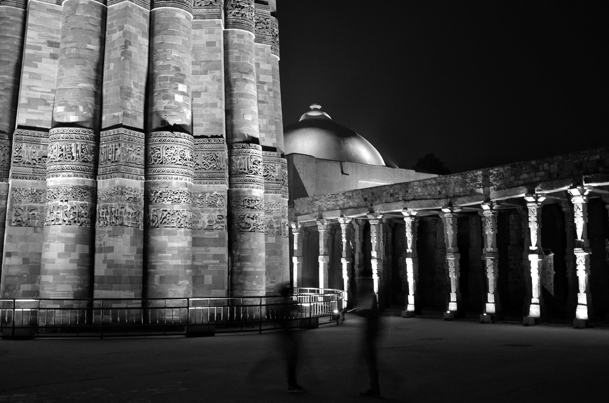 Qutub Minar at Night – A chance to see Delhi's iconic monument in a new light