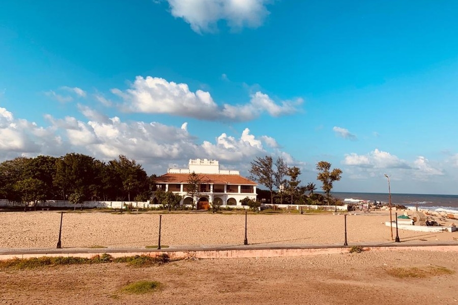 Bungalow on the Beach - Tranquebar