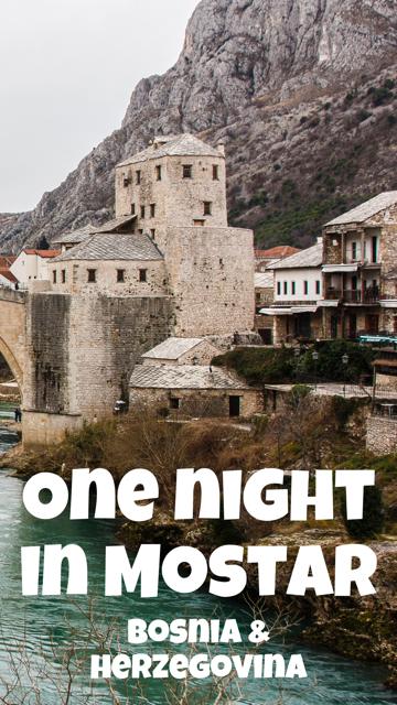 A Night in Mostar, Bosnia and Herzegovina