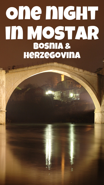 Crossing Over - A Night in Mostar
