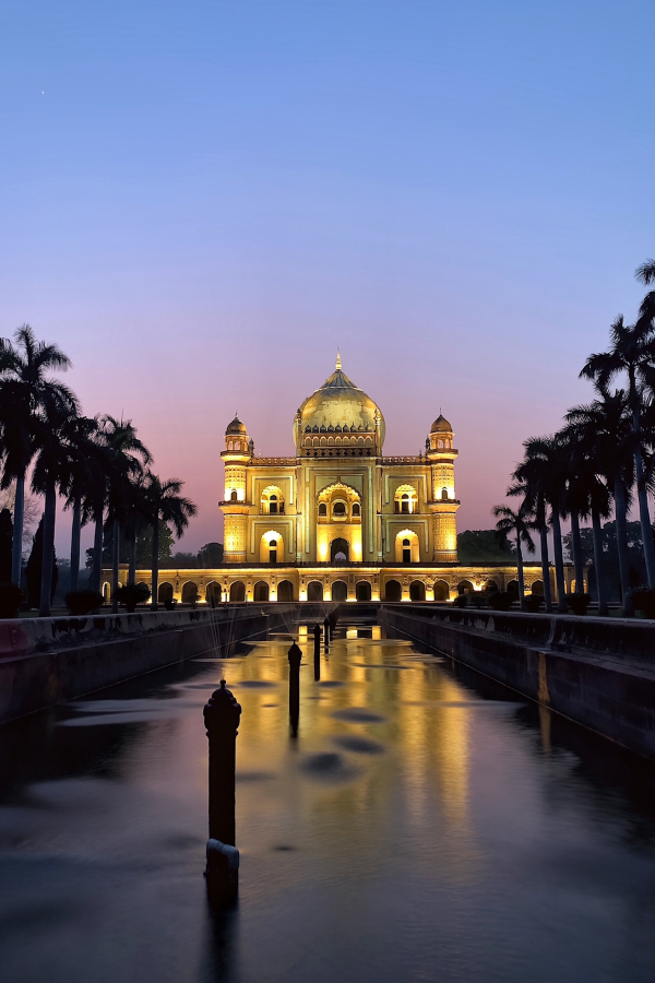 Blue Hour - Safdarjung's Tomb