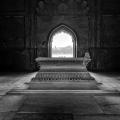 Inside Safdarjung's Tomb