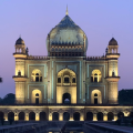 Photos of Safdarjung's Tomb at Night
