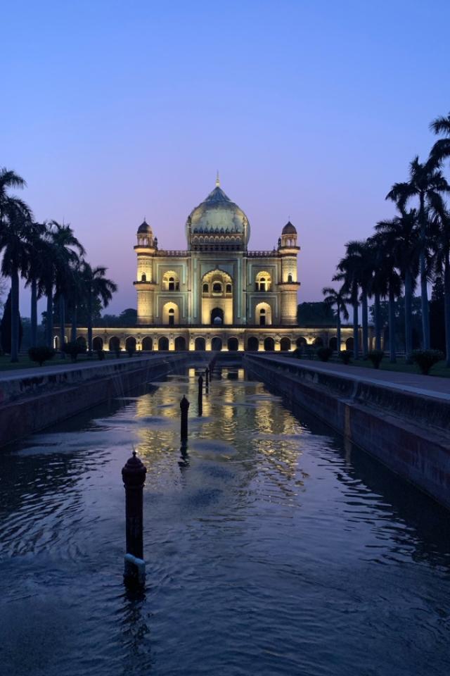 Safdarjung's Tomb - Blue Hour Photography