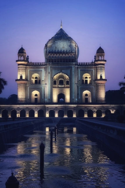 Safdarjung's Tomb during Blue Hour