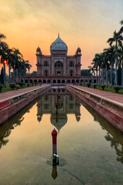 Safdarjung's Tomb during Sunset