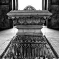 Safdarjung's Tomb – Inside in Black and White