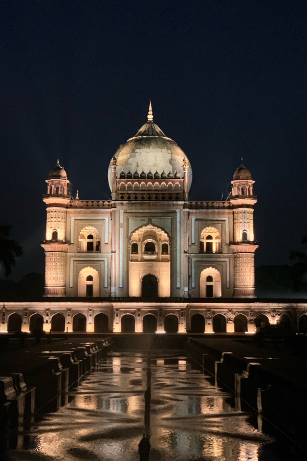 Safdarjung's Tomb New Delhi - At Night